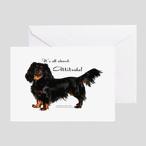 Dachshund Attitude Greeting Cards