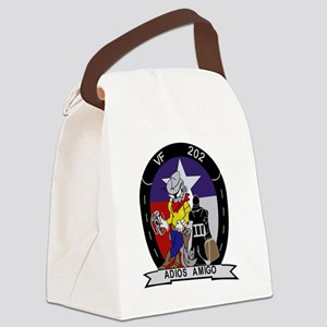 vf-202_adios_amigo Canvas Lunch Bag