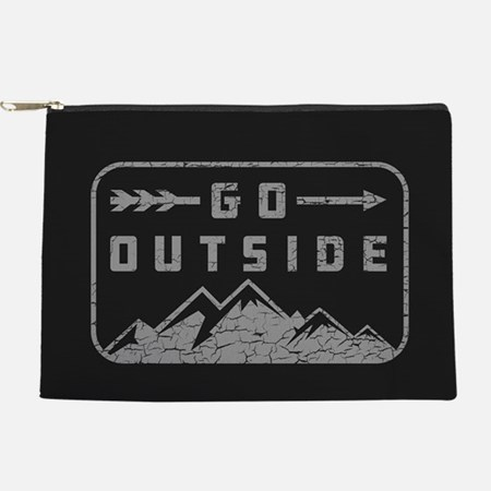 Go Outside Makeup Pouch