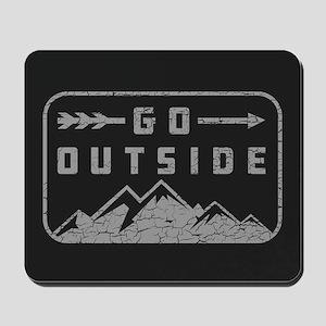 Go Outside Mousepad