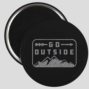 Go Outside Magnet