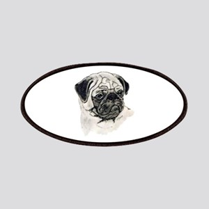 Pug head Patches
