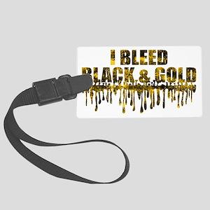 BLEED BLACK Large Luggage Tag