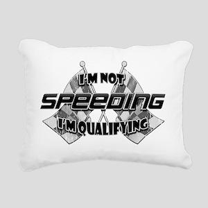 Im Not Speeding 4 Rectangular Canvas Pillow