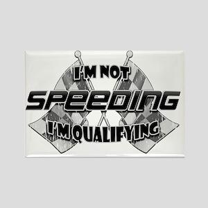 Im Not Speeding 7 Rectangle Magnet