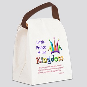 Little Prince of the Kingdom Canvas Lunch Bag
