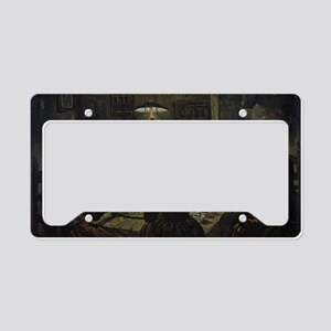 The Potato Eaters License Plate Holder
