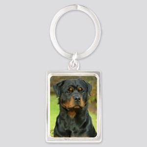 Rottweiler 9W044D-073 Portrait Keychain