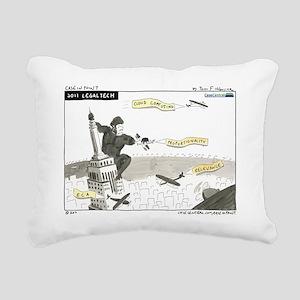 110131.legaltech2011nost Rectangular Canvas Pillow