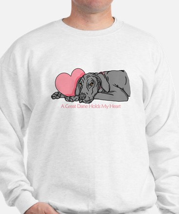 Black UC Holds Heart Sweatshirt