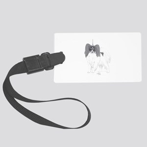 Papillon show Luggage Tag