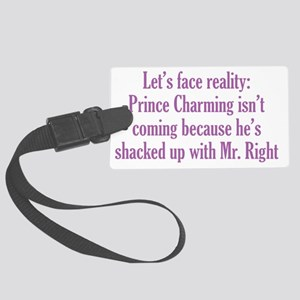 charming_btle1 Large Luggage Tag
