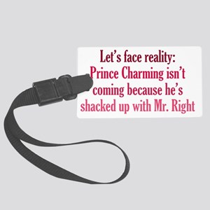 charming_btle2 Large Luggage Tag