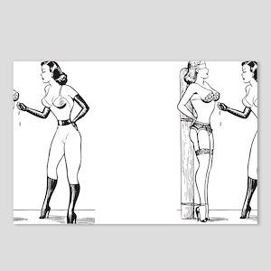 fem_mug_blk Postcards (Package of 8)