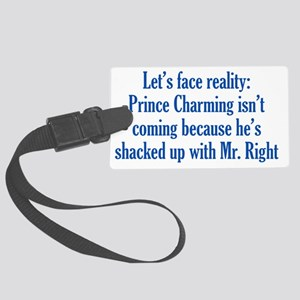 charming_btle3 Large Luggage Tag