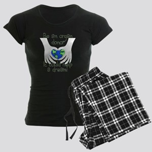 blanket graphic Women's Dark Pajamas