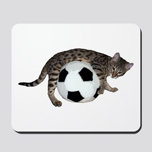 Cat Soccer - Mousepad