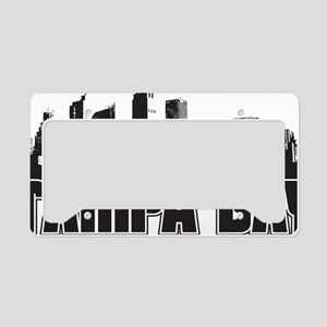 Tampa Bay Skyline License Plate Holder