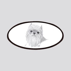 Brussels Griffon face Patches