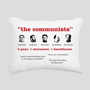 the-communists3 Rectangular Canvas Pillow