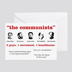 the-communists3 Greeting Card