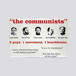 the-communists3 Rectangle Magnet