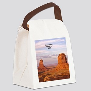 MoValMerEMitCoverSM Canvas Lunch Bag