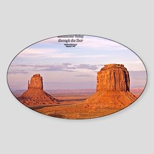 MoValMerEMitCoverSM Sticker (Oval)