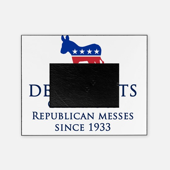 Democrats Cleaning Picture Frame