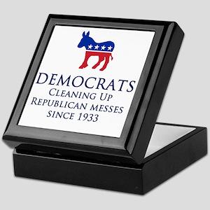 Democrats Cleaning Keepsake Box