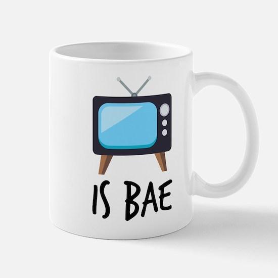 TV is Bae Emoji Mug