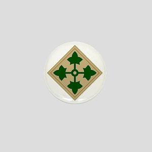 4th Infantry Division Mini Button