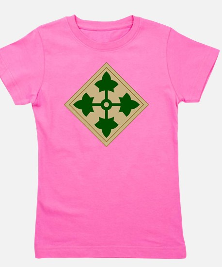 4th Infantry Division Girl's Tee