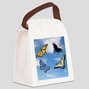 Assorted Butterflies  Mousepad Canvas Lunch Bag