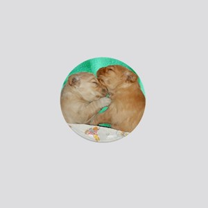 Golden Retriever Puppies Mousepad Mini Button