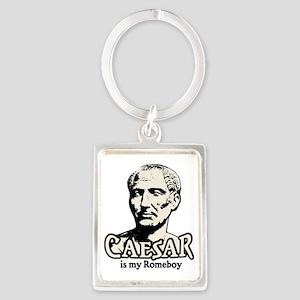 Caesar Romeboy W Portrait Keychain