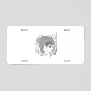 Shetland Sheepdog agility tunnel Aluminum License