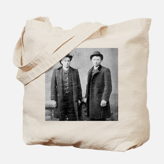 tile coaster two gents 2 Tote Bag