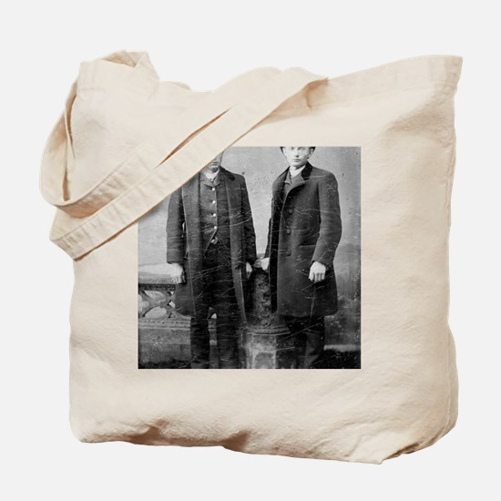 mouse pad two gentlemen 1 Tote Bag