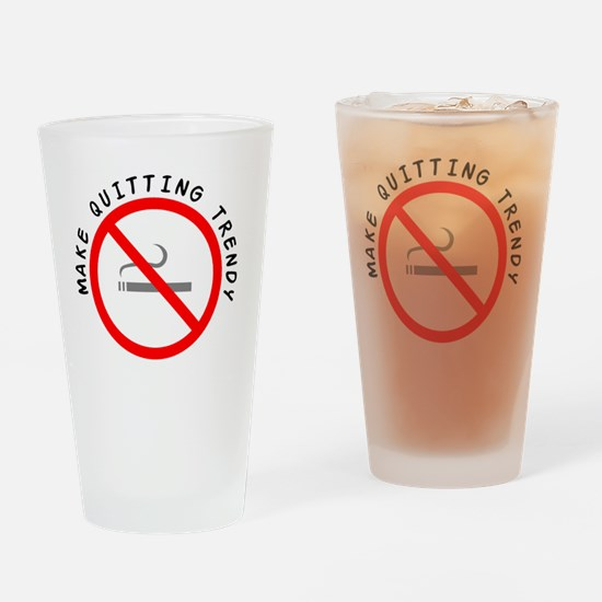 STOP_SMOKING Drinking Glass