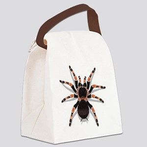 tarantula_CP Canvas Lunch Bag