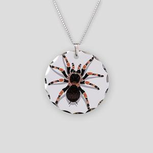 tarantula_CP Necklace Circle Charm