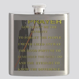 SENILITY POSTER Flask