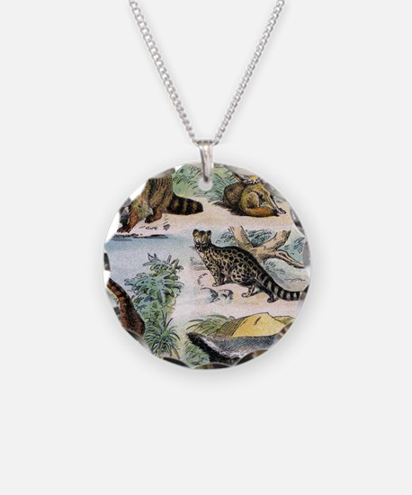 Four Mammals Necklace
