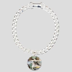 Four Mammals Charm Bracelet, One Charm