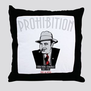 capone-1-DKT Throw Pillow