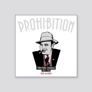 "capone-1-DKT Square Sticker 3"" x 3"""