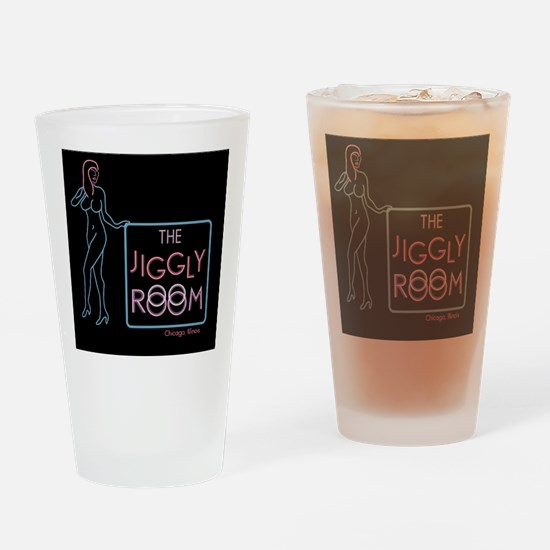 The Jiggly Room Magnet Drinking Glass