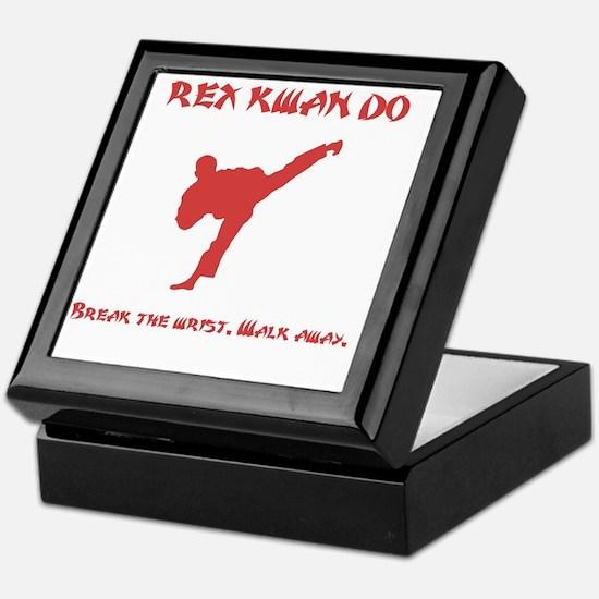 Rex Break Wrist Red Keepsake Box