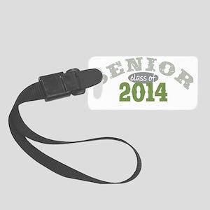 Senior 2014 Green 2 Small Luggage Tag